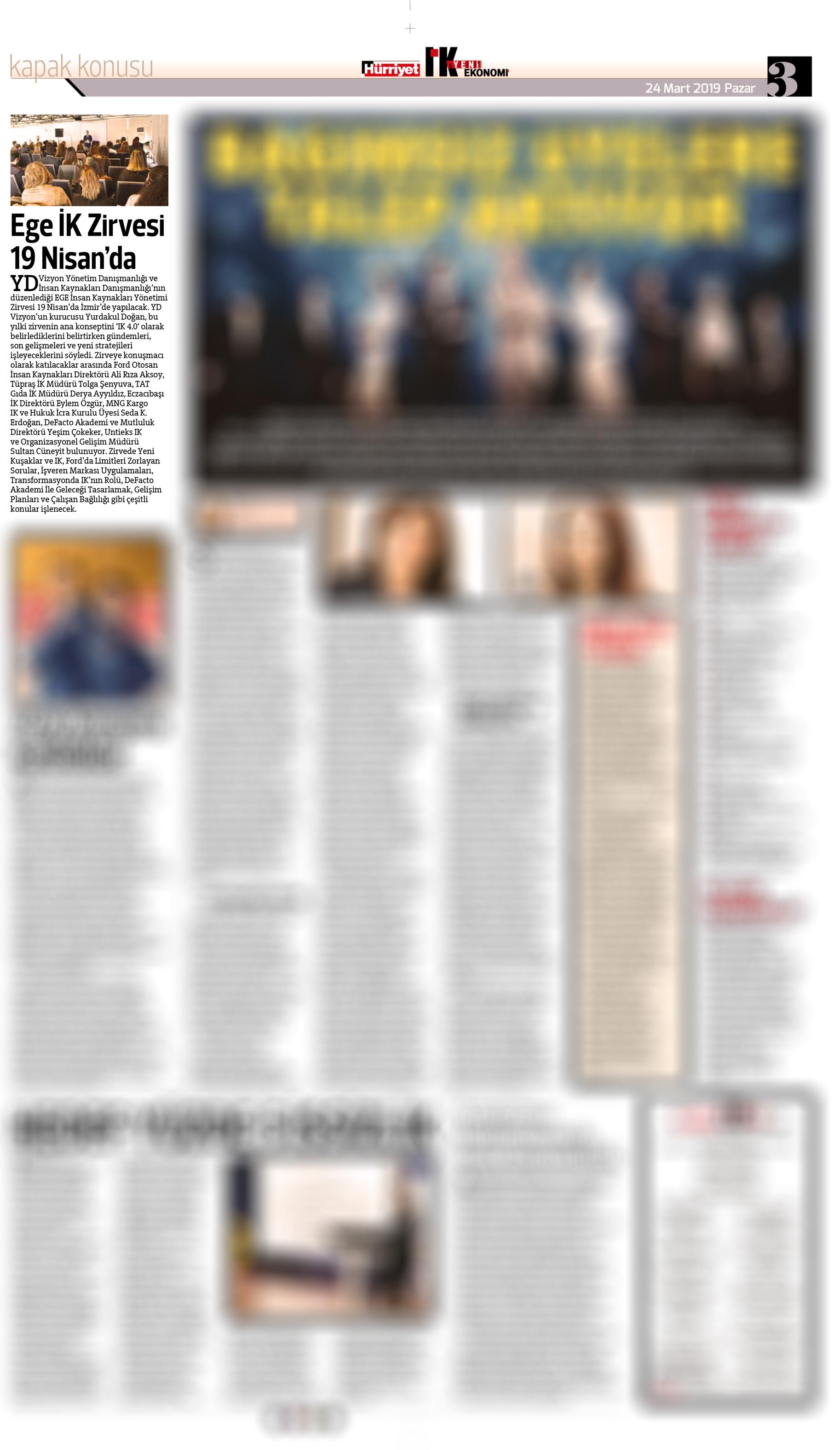 Hürriyet IK - Haber - 24.03.2019
