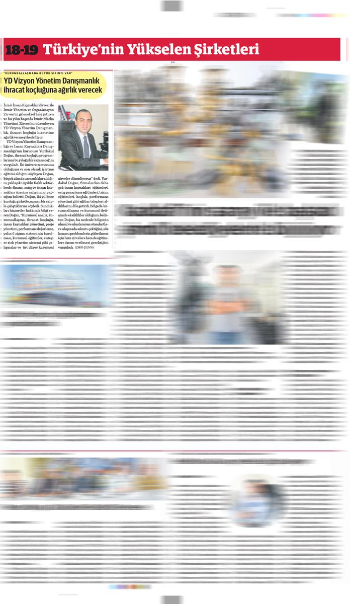Dünya Gazetesi - 27.06.2014