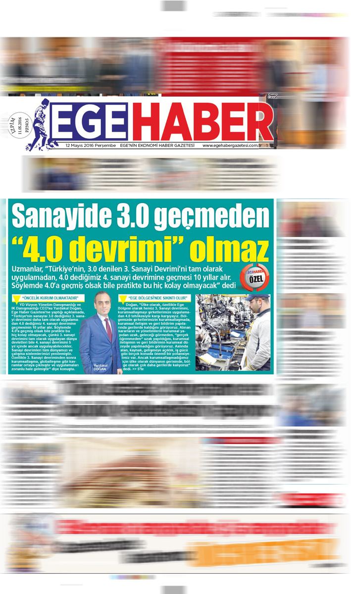Ege Haber - Röportaj - 12.05.2016