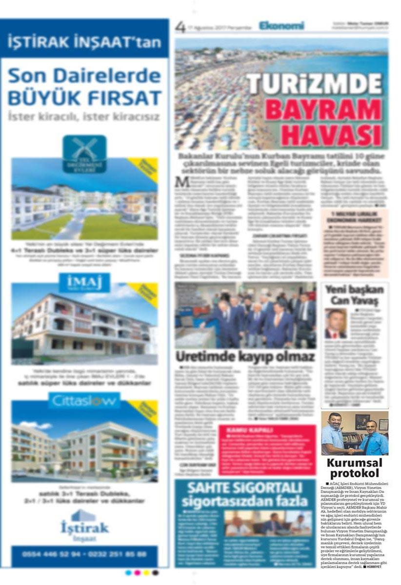 Hürriyet Ege - 17.08.2017
