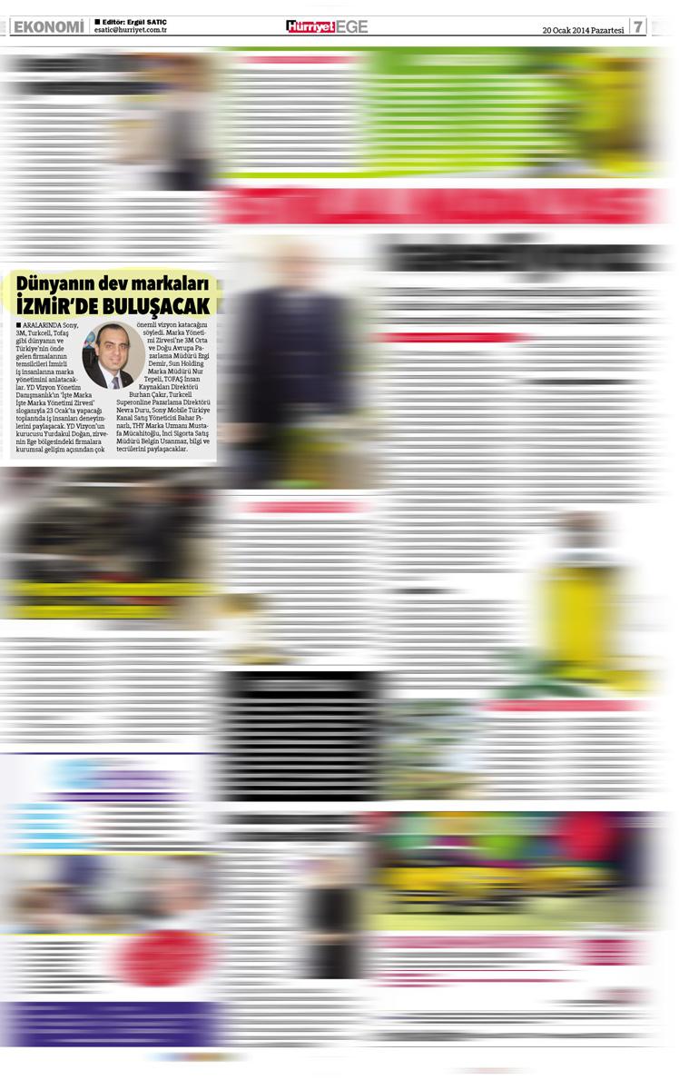 Hürriyet Ege - Haber - 20.01.2014