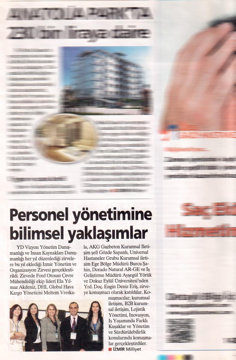 Milliyet Ege - Haber - 25.09.2013