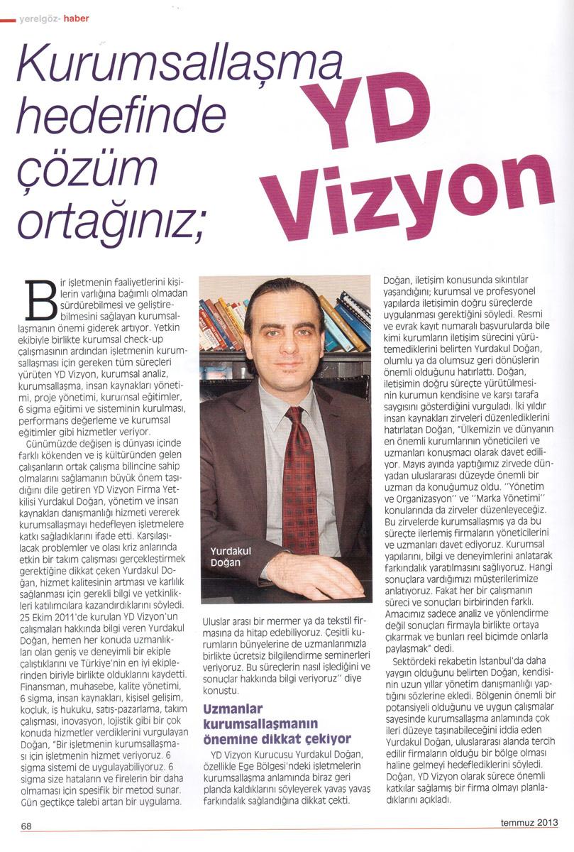 Yerel Göz Dergisi - Haber - 07.2013